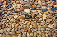 Sea stones pebble texture background Stock Photography