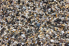 Sea stones texture. Different colors sea stones texture Stock Image