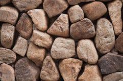 Sea stones wall. Royalty Free Stock Photography