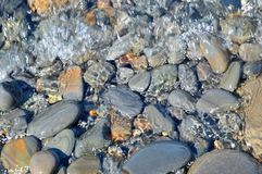 Sea stones, water Stock Photo
