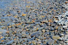 Sea stones, water Royalty Free Stock Photo