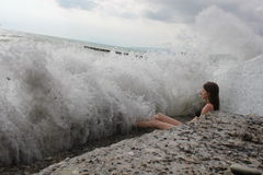 Sea Storm Stock Images