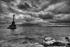 Sea storm Stock Photography
