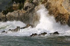 Sea storm Stock Image