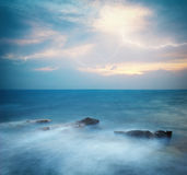 Sea at storm Stock Photography
