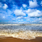 Sea storm. Royalty Free Stock Photo