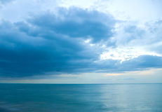 Sea before the storm Royalty Free Stock Image