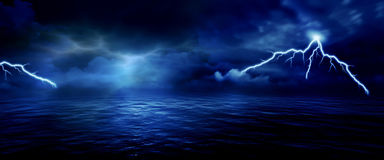 Sea storm Stock Photography