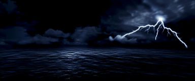Sea storm Royalty Free Stock Photo