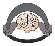 Sea su propia ilustración de la psicología del programa piloto Imagen de archivo