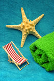 Sea summer vacation royalty free stock photos