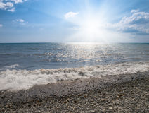 Sea and sun Royalty Free Stock Photo