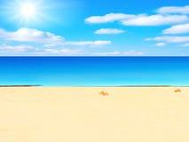 Sea and sun Royalty Free Stock Photo