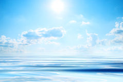 Sea and sun Royalty Free Stock Images