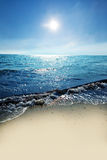 Sea sun sand Royalty Free Stock Photography
