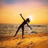 Sea, Sun, Sky, Sunrise royalty free stock photos