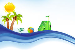 Sea,Sun and Summer Background. Sea,Sun and Summer Backround and Banner Stock Image