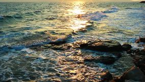 The Sea and Sunlight stock footage