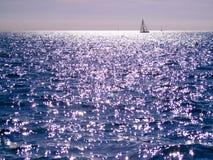 Sea in sunlight Stock Photo
