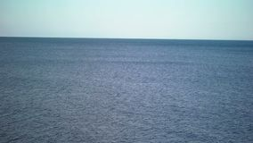 Sea at sunny day stock footage