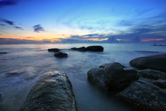 Sea sunrise Stock Image