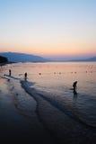 Sea at sunrise Royalty Free Stock Image