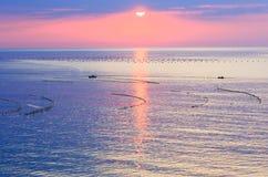 Sea sunrise. Royalty Free Stock Image