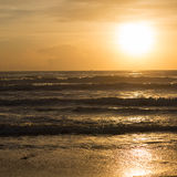 Sea and sunrise Royalty Free Stock Images