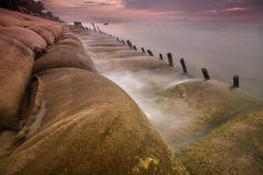 Sea sunrise. Royalty Free Stock Photography