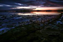 Sea sunrise. Stock Image