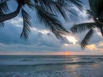 Sea sunrise in Koh Samui island Royalty Free Stock Image