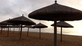 Sea at sunrise. Located in Sanya,Hainan,China stock footage