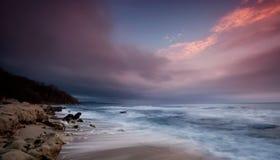 Sea sunrise Royalty Free Stock Images