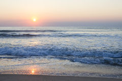Sea sunrise Stock Photography