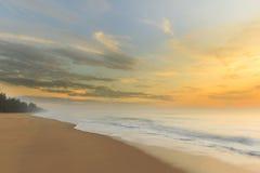 Sea Sunrise Time Royalty Free Stock Photo