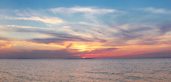 Free Sea Sunset Royalty Free Stock Images - 31593669