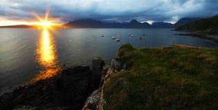 sea sunset στοκ εικόνες