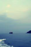 Sea sunset. Croatia royalty free stock image