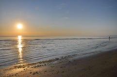 Sea sunset. Italy sea sunset Stock Photography
