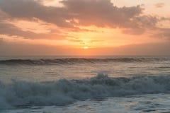 Sea sunset. At Tanah log . Bali - Indonesia Stock Photos