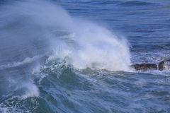 Sea surf great wave Royalty Free Stock Photography