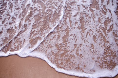 Sea surf. Look on the beach.sea wave Stock Image