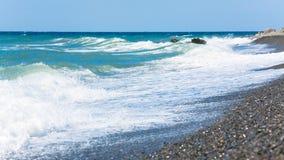 Sea surf wave Stock Image