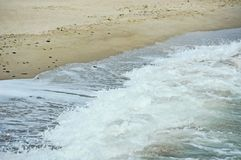 Sea surf wave Stock Photography