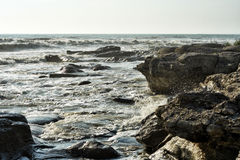 Sea surf. Royalty Free Stock Photography