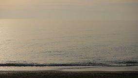 Sea surf. Waves runs on coastal pebble. Time-lapse. Sea surf, Waves runs on coastal pebble stock video