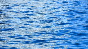 Sea surface as natural background. Stock Image