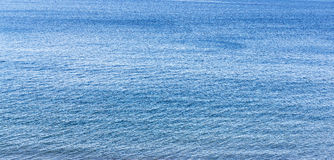 Sea surface. Royalty Free Stock Photography