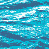 Sea_surface_texture Stock Images