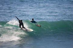 Sea surfing Royalty Free Stock Photos